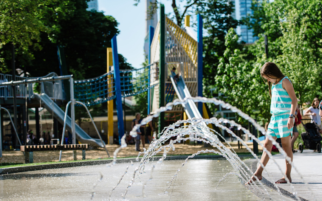 art gallery ontario water play feature