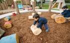 childcare wood playground