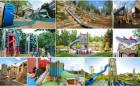 custom adventure themed playground design fabrication