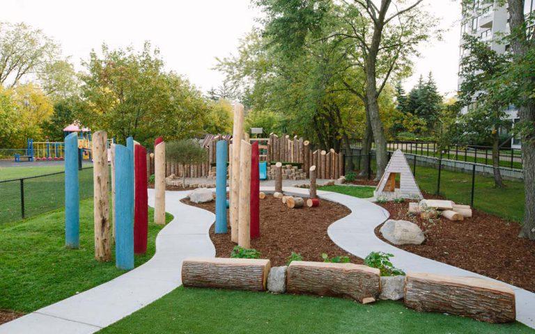 natural childcare playground