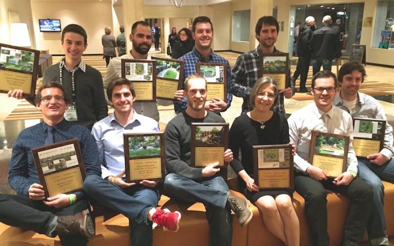 Landscape Ontario Awards of Excellence Gala team photo