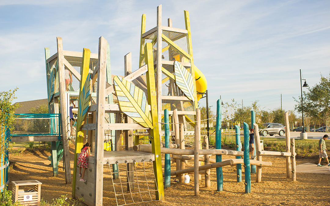 custom giant wood tower playground