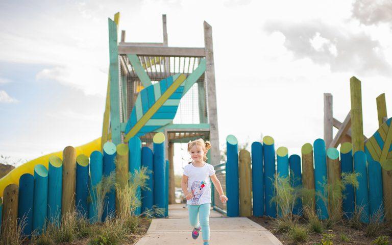 custom leaf tower playground