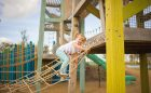 custom rope climber tower playground