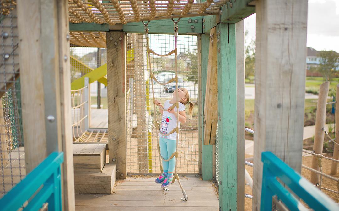 Playground Rope Ladder Tower Playground