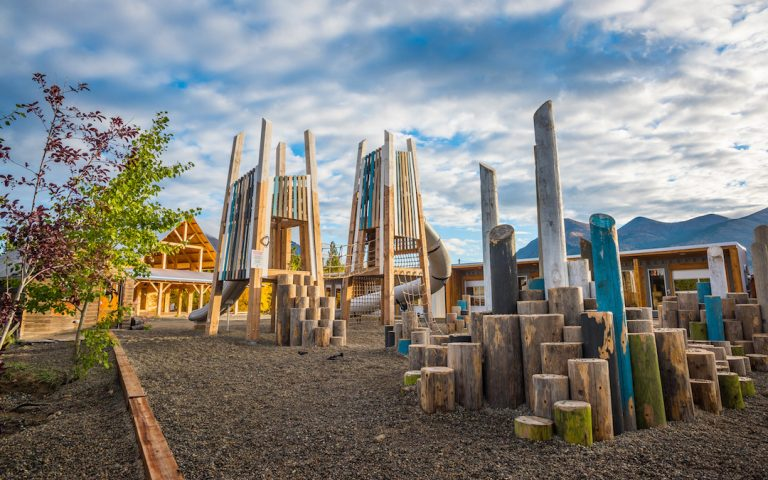 playground carcross yukon play outdoor climb active
