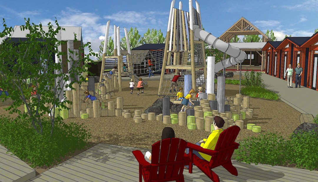 mountain tower playground design