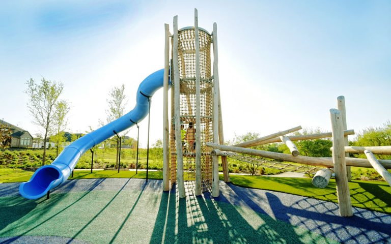 edgestone tower playground wood active