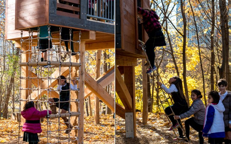 climbing active play climb natural playground