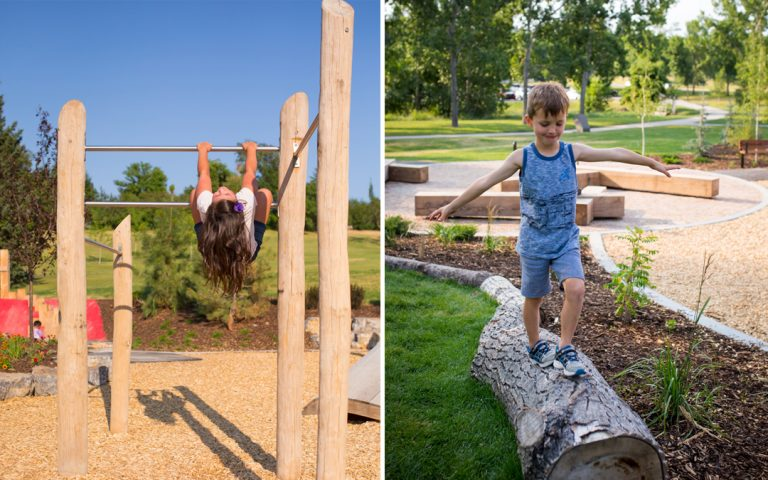active play wood playground natural balance
