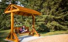 confederation park swing bench site amenity