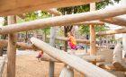 Hoyt Sullivan playground park natural playground log climbers