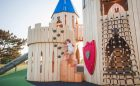 Paul Coffey Mississauga playground castle climbing natural play