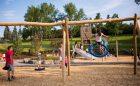 swing playground custom natural confederation park