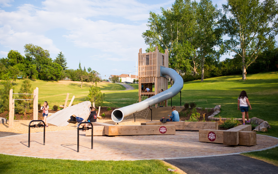 confederation park calgary natural playground