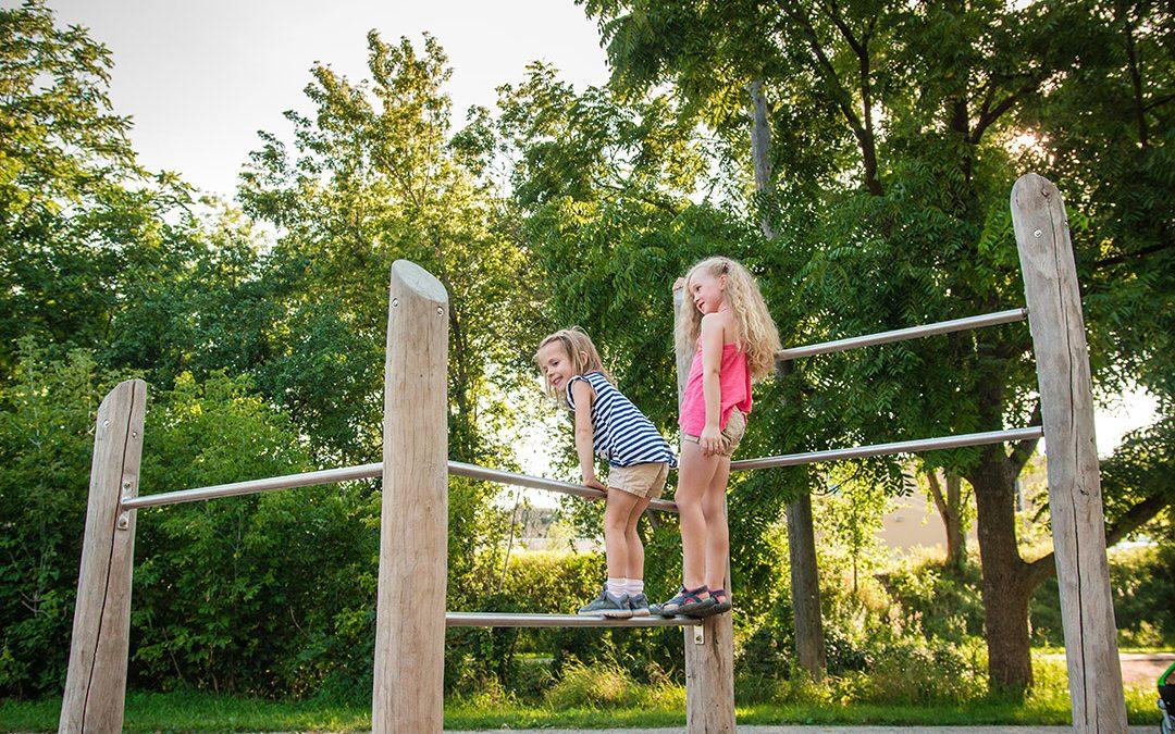 gildner green timber bars natural play