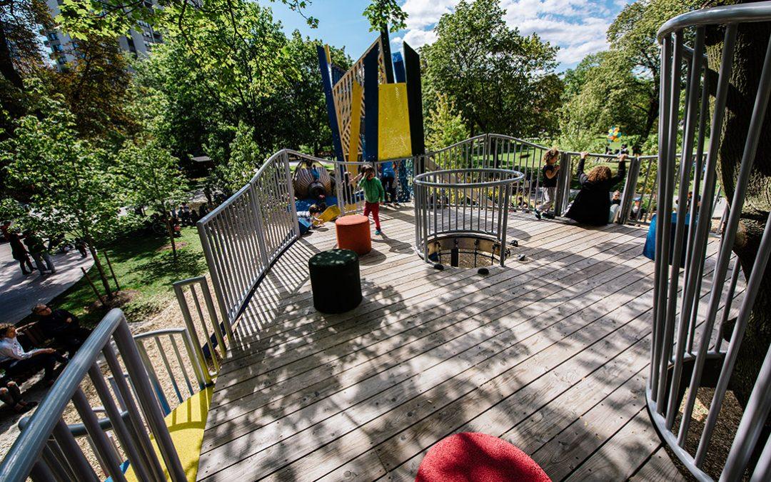Urban Playground Design