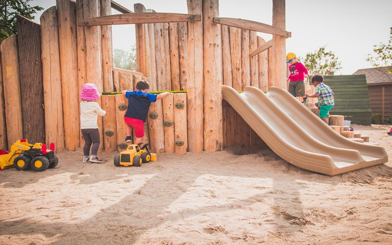 St Bernadette Elementary School Natural Playground Earthscape Play