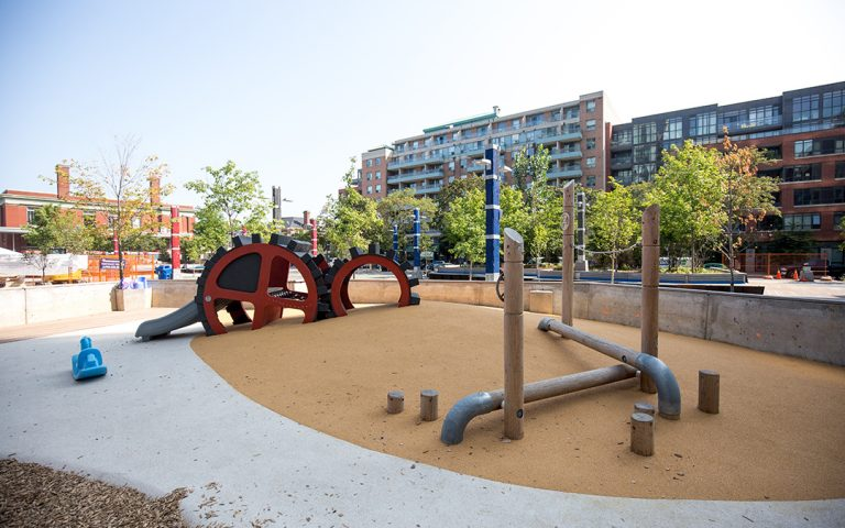 lisgar park custom playground