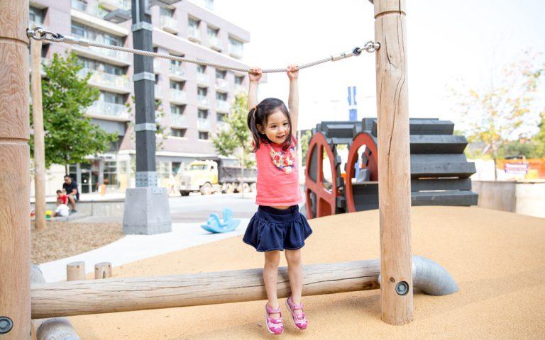 rope log custom park industrial play climber canada