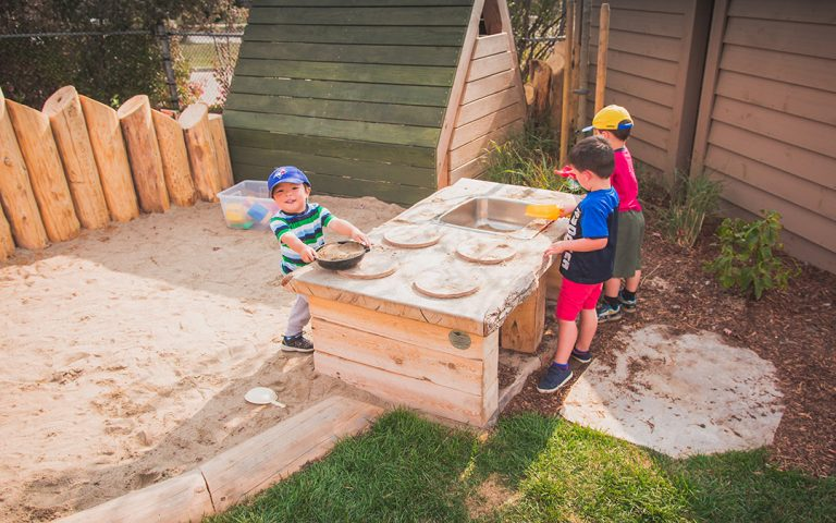 st bernadette natural play kitchen