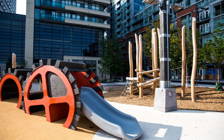 toronto custom playground lisgar park sculpture