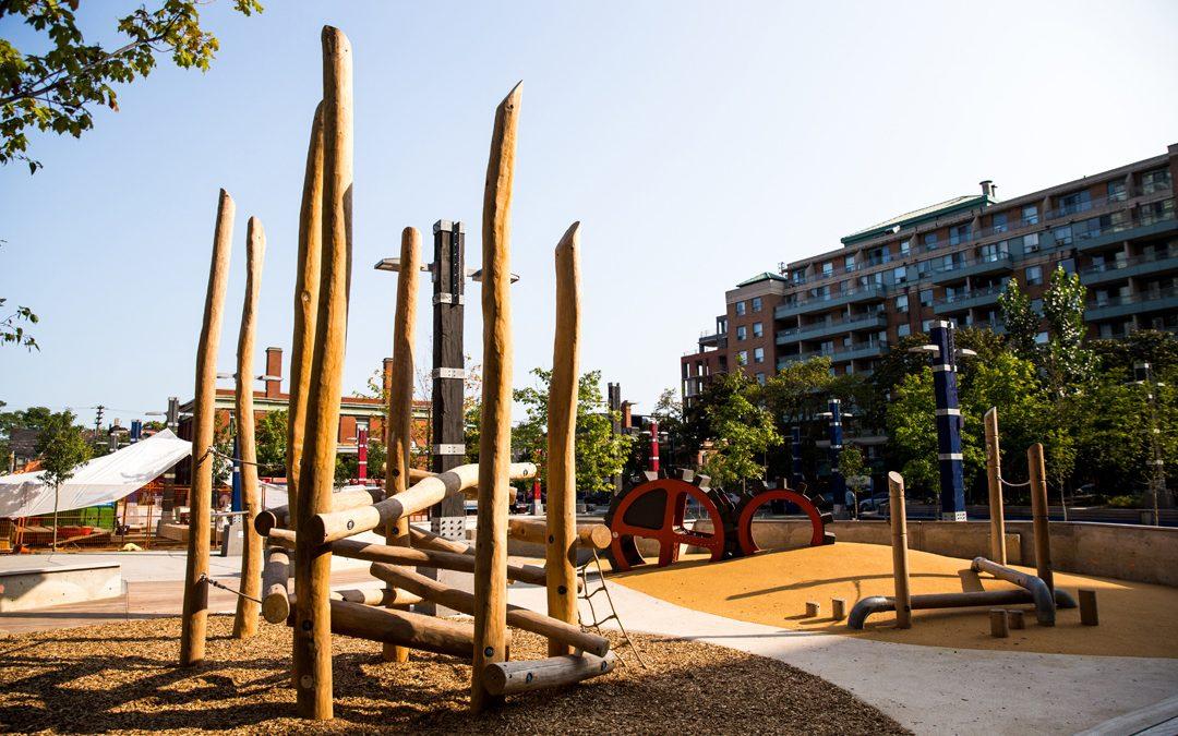 toronto park natural climber playground