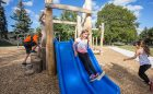 Lord Seaton natural playground slide