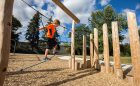 Lord Seaton wood natural playground ropes