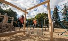 Toronto ontario nature play climbing ropes