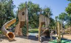 denver colorado forest towers leaf adventure playground