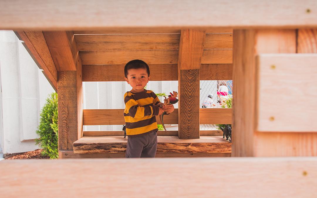 elementary school playground play hut