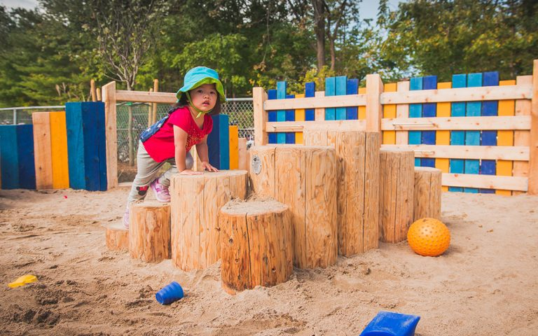 pilgrim woods natural play steppers
