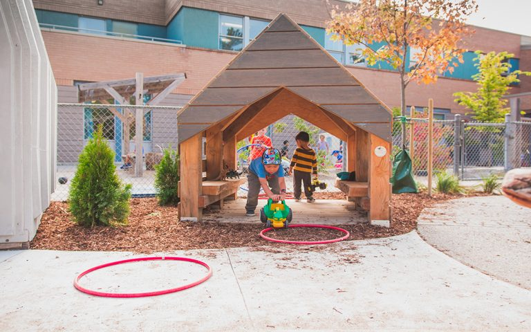 pilgrim woods school play hut