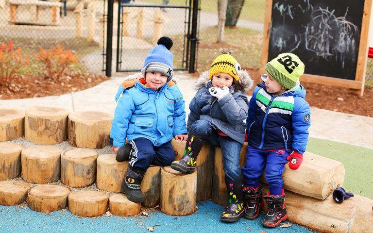 Hamilton childcare playground chalkboard