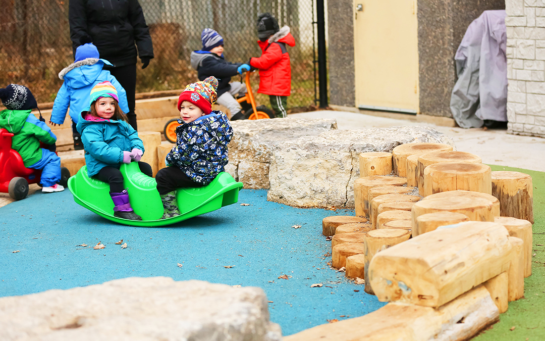 Hamilton childcare playground