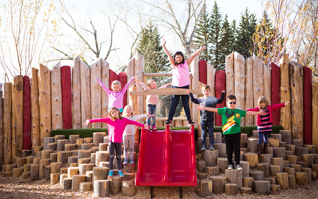 Mills Parks Calgary natural playground