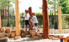 playground children active climbing engaging climber
