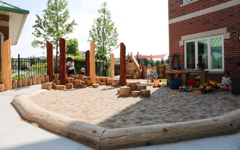 sand play sensory playground outdoor