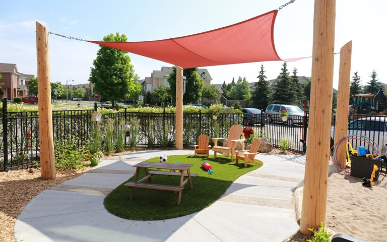 shade playspace outdoor childcare