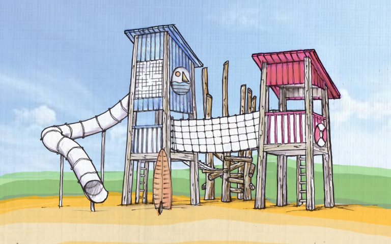 aldergrove beach themed tower concept design