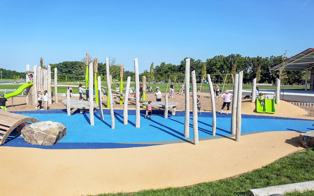 William Connell custom nature playground