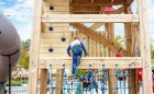 aldergrove british columbia playground tower nets climbing wall