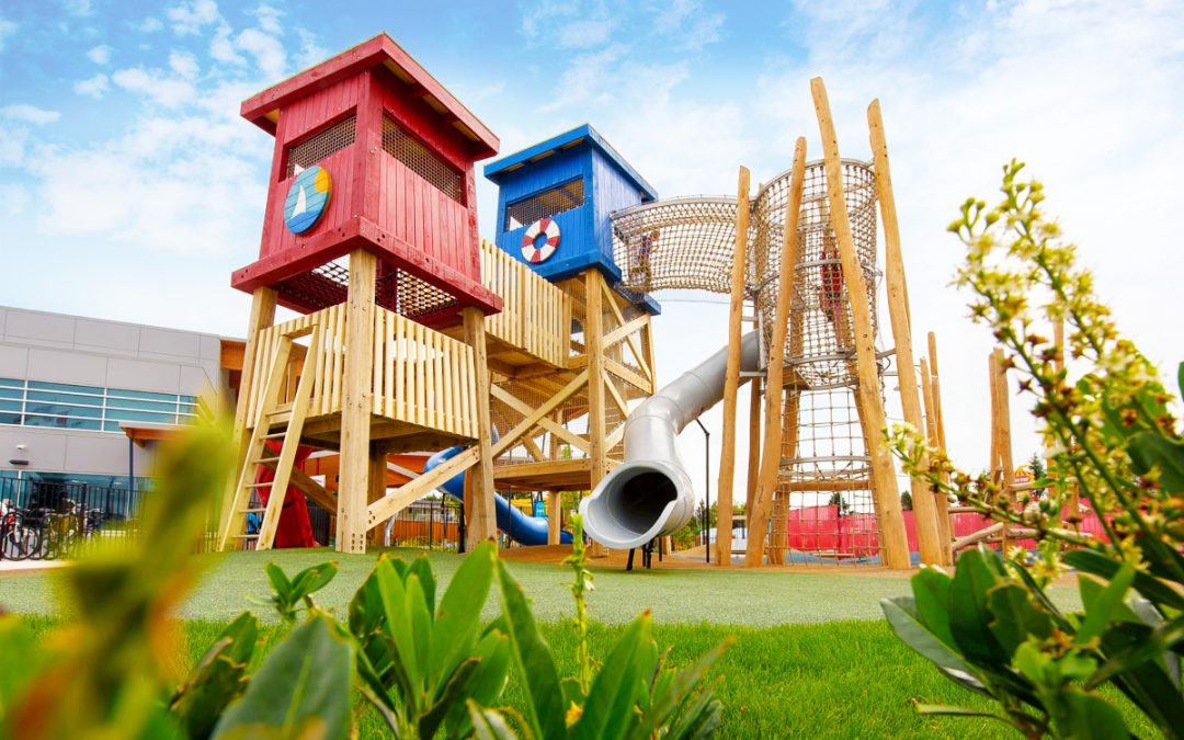 aldergrove recreation centre playground lifeguard towers