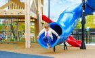 beach themed playground british columbia aldergrove rec centre