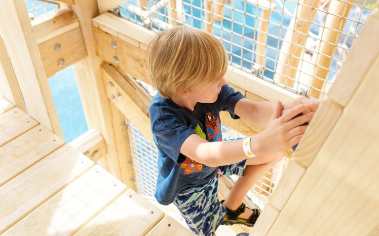 british columbia natural playground tower climbing