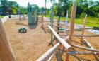natural playground park space ella fitzgerald outdoor space themed