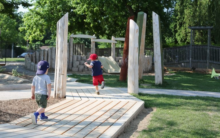 playground fun hamilton childcare outdoor natural space
