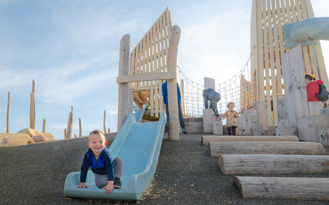 Wanuskewin Heritage Park national historic site natural playground hill slide towers