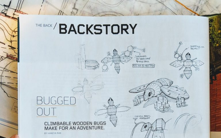 LAM magazine earthscape backstory feature washington park denver